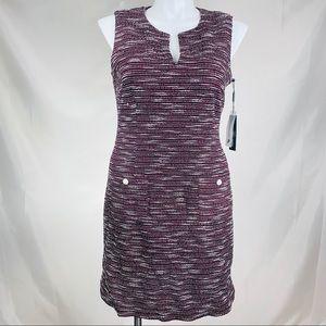 Karl Lagerfeld dress Paris Camilo tweed knit dress